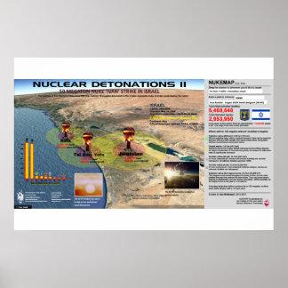 Détonations nucléaires - Israël 2 Posters
