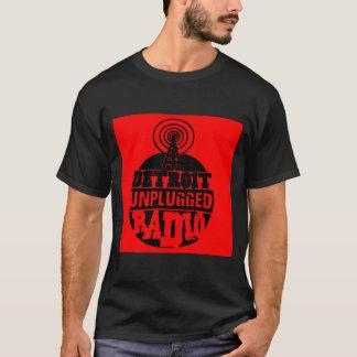 Detroit a débranché la chemise (rouge) t-shirt