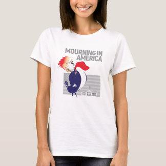 Deuil dans le T-shirt de l'Amérique pour des