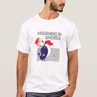 Deuil dans le T-shirt de l'Amérique pour les