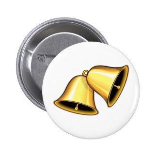 Deux Bells d'or Pin's