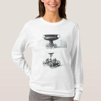 Deux chars votifs pour rassembler l'eau de pluie t-shirt
