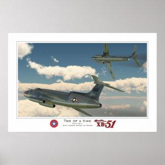 Deux d'une sorte : Martin XB-51 (2) Posters