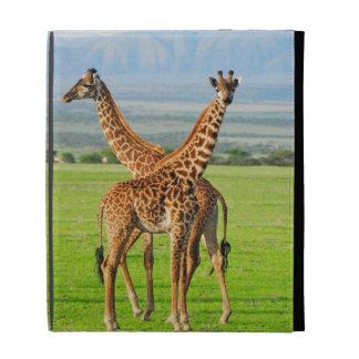 Deux girafes coques iPad