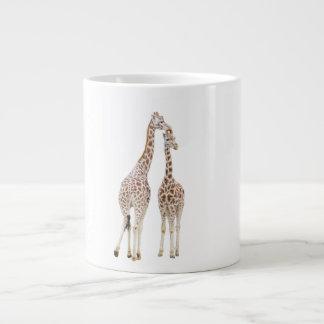 Deux girafes mug