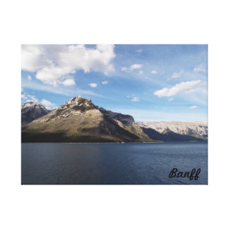 Deux lacs Jake, Banff, Canada Toile
