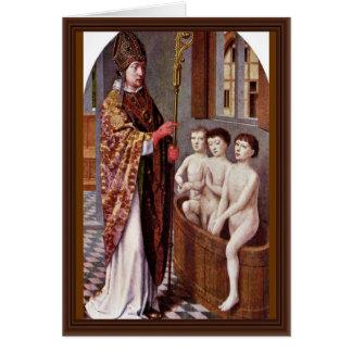 Deux légendes de Saint-Nicolas par David Gerard Cartes