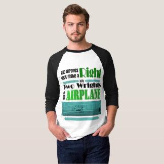 Deux maux ne font pas une droite t-shirt