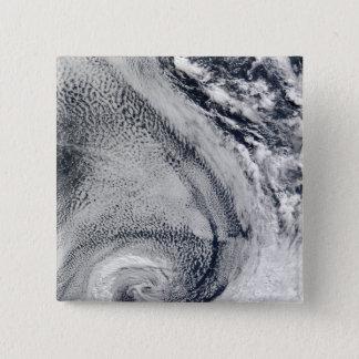 Deux ouragans polaires en forme de s badge