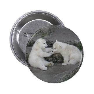 Deux ours blanc CUB Badge