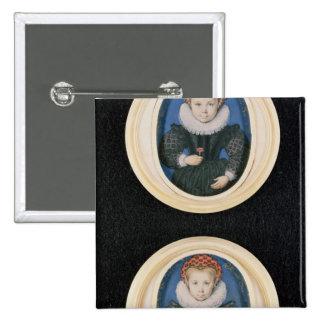 Deux petites filles, 1590 pin's