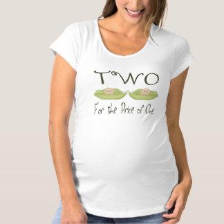 Deux pour le prix d'un T-Shirt de maternité