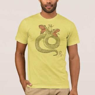 Deux-serpent et Super Souris T-shirt