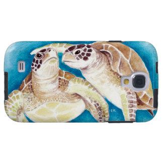 Deux tortues de mer coque galaxy s4
