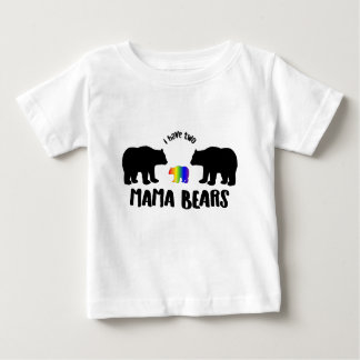Deux TShirt de maman Bears Kid's