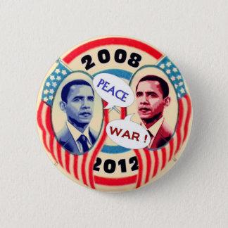 Deux-Visage d'Obama Pin's