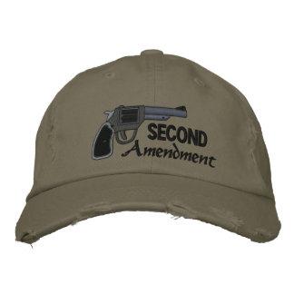 Deuxième amendement casquette brodée