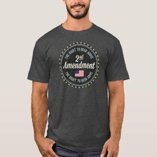 Deuxième amendement t-shirt