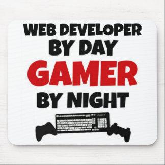 Développeur web par le Gamer de jour par nuit Tapis De Souris