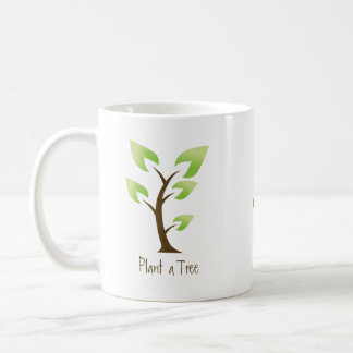 Devenez écolo.  Plantez un arbre. Sauvez la Mug