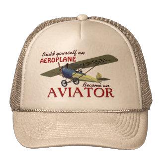 Deviennent un aviateur casquettes