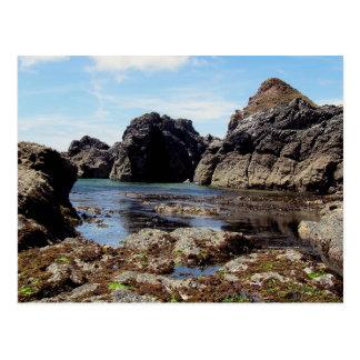 Devon du sud Eas Prawle à la roche de Gara Carte Postale