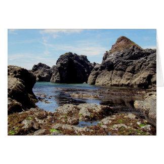 Devon du sud Prawle est à la roche de Gara Carte De Vœux