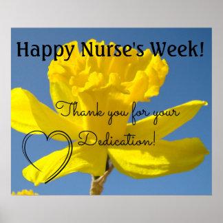 Dévouement RN de Merci d'oosters de la semaine de Posters