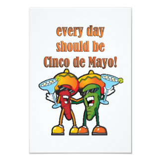 Devrait être Cinco De Mayo Party des invitations