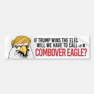 Devrons-nous l'appeler un Combover Eagle ? Autocollant De Voiture