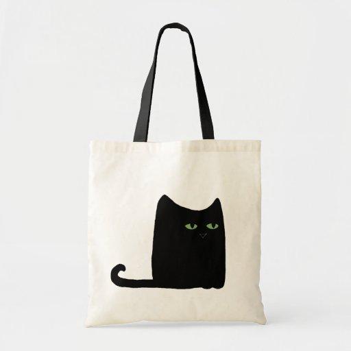 Dexter le gros chat noir Fourre-tout (personnalisa Sacs