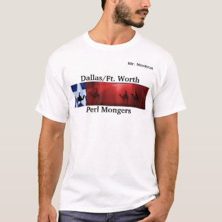 dfwpm, VENDEURS de Perl, DALLAS FORT WORTH (3) T-shirt
