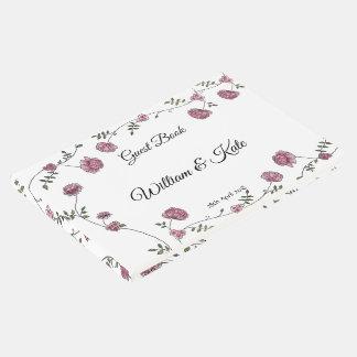 Dhalia a personnalisé le livre d'invité de mariage