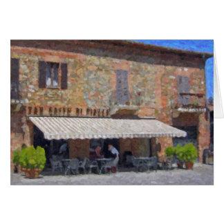 """Di cartes de voeux de Sienne, Toscane de Torrita"""