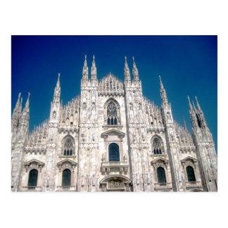 Di Milan de Duomo Carte Postale