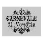 Di Venezia de Carnevale Carte Postale