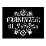 Di Venezia de Carnevale Cartes Postales