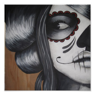 Dia De Los Muertos Affiche