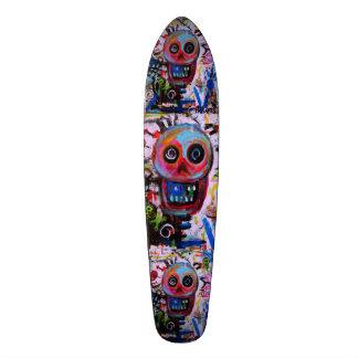 Dia de los Muertos Calaveras Skateboard 21,6 Cm