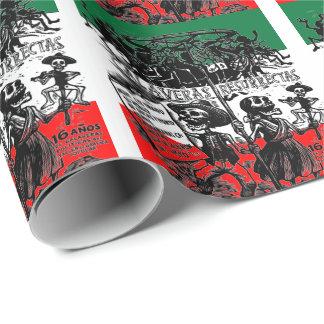 Dia de los Muertos (jour des morts) Papier Cadeau