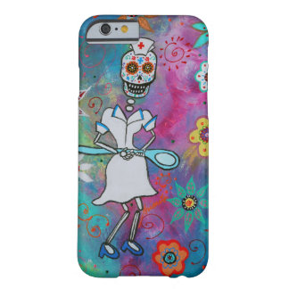 DIA DE LOS MUERTOS NURSE COQUE iPhone 6 BARELY THERE