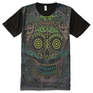 Dia de los Muertos T-shirt Tout Imprimé