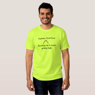 Diabète augmentant rapidement le T-shirt de base