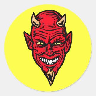 diable adhésif rond