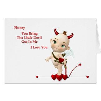 diable de lil carte de vœux