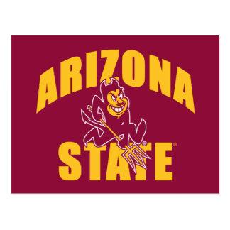 Diable de Sun d'état de l'Arizona Carte Postale