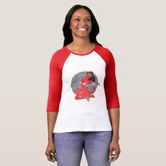 Diable-Fille (édition vintage.) T-shirt