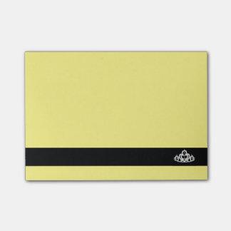 Diadème de Courrier--Note-Reconstitution Notes Post-it