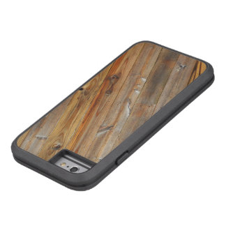 Diagonale en bois de planche coque tough xtreme iPhone 6