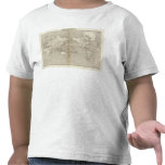 Diagramme de Planisphere de système solaire T-shirt